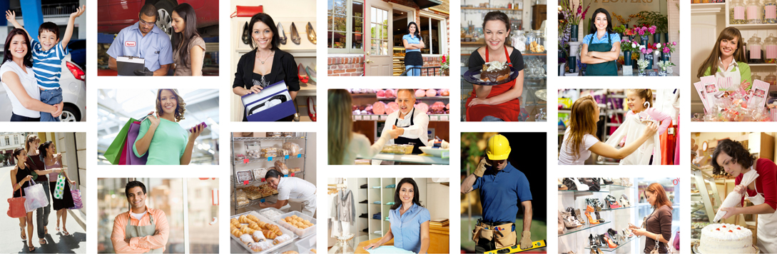 Business Owners Collage